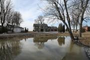 Vue d'un secteur inondé de la municipalité deVenise-en-Québec,... (PHOTOMARTINCHAMBERLAND, ARCHIVES LA PRESSE) - image 4.0