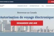 L'en-tête du site canadianeta-visa.com affiche le drapeau canadien,... (IMAGE TIRÉE DU SITE WEB CANADIANETA-VISA.COM) - image 2.0