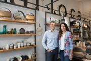 Sébastien Biguet et Catherine Lecompte, cofondateursd'Arloca... (PHOTO ROBERT SKINNER, LA PRESSE) - image 2.0