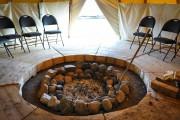 La tente de sudation du pénitencier Archambault, à... (PHOTO FOURNIE PAR SERVICE CORRECTIONNEL CANADA) - image 10.0