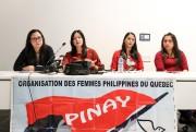 Conférence de presse de travailleuses domestiques affectées par... (PHOTO ROBERT SKINNER , LA PRESSE) - image 2.0