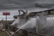 Les travaux de démolition de l'ancien... (PHOTO MARTIN TREMBLAY, LA PRESSE) - image 4.0