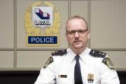 Dany Gagnon, responsable des enquêtes criminelles à la... (PHOTO FOURNIE PAR LA POLICE DE LAVAL) - image 2.0