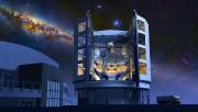 Représentation du télescope géant Magellan... (ILLUSTRATION FOURNIE PAR LA NASA) - image 6.0