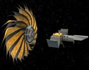Représentation du télescope spatial Habex avec un écran... (ILLUSTRATION FOURNIE PAR LA NASA) - image 7.0