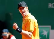 Denis Shapovalov lors du Masters de Monte-Carlo, le... (REUTERS) - image 3.0
