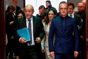 Les ministres des Affaires étrangères français et allemand,... (PHOTO FRANCOIS LENOIR, AFP) - image 2.0