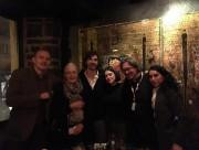 Nicolas Girard Deltruc (au centre) et Vanessa Redgrave... (PHOTO FOURNIE PAR NICOLAS GIRARD DELTRUC) - image 4.0