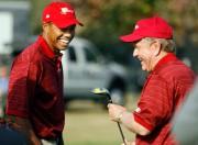 Tiger Woods et Jack Nicklaus.... (PHOTO FRANÇOIS ROY, ARCHIVES LA PRESSE) - image 2.0