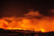 L'incendie Camp Fire, à Paradise, en Californie, en... (PHOTO HECTOR AMEZCUA, AP) - image 2.0
