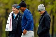 Tiger Woods à l'entraînement cette semaine avec son... (PHOTO USA TODAY SPORTS) - image 6.0