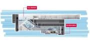 Une station souterraine du REM sera installée à... (IMAGE FOURNIE PAR AÉROPORTS DE MONTRÉAL) - image 2.0