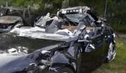 L'épave du Model S de Joshua Brown, qui... (PHOTO NTSB, VIA FLORIDA HIGHWAY PATROL) - image 4.0