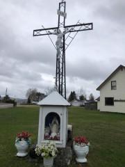 Une croix de chemin en fer forgé, à... (PHOTO YVES BOISVERT, LA PRESSE) - image 3.0