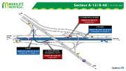 Les entraves majeures à la circulation... (IMAGE FOURNIE PAR MOBILITÉ MONTRÉAL) - image 4.0