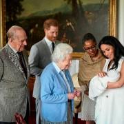La reine ÉlisabethII a rencontré son petit-fils Archie... (PHOTO CHRIS ALLERTON, ARCHIVES ASSOCIATED PRESS) - image 2.0