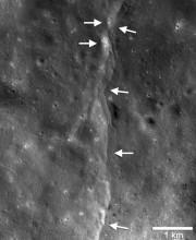 Une faille lunaire.... (PHOTO FOURNIE PAR L'ARIZONA STATE UNIVERSITY) - image 2.0