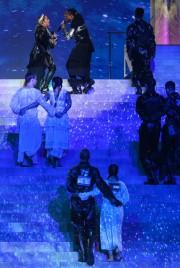 Certains danseurs arboreraient des drapeaux israélien et palestinien... (PHOTO ORIT PNINI, KAN VIA AGENCE FRANCE-PRESSE) - image 2.0