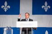 Le premier ministre caquiste François Legault, en décembre... (PHOTO JACQUES BOISSINOT, ARCHIVES LA PRESSE CANADIENNE) - image 2.0