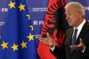 Dimitris Avramopoulos était à Tirana, mardi.... (REUTERS) - image 2.0