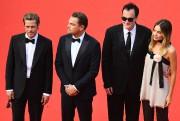 Brad Pitt, Leonardo DiCaprio, Quentin Tarantino et Margot... (PHOTO ANTONIN THUILLIER, AFP) - image 4.0