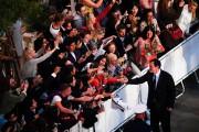 Le réalisateur QuentinTarantino a salué ses admirateurs en... (PHOTO CHRISTOPHESIMON, AGENCE FRANCE-PRESSE) - image 2.0