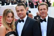 Les acteurs MargotRobbie, Leonardo DiCaprio et Brad Pitt... (PHOTO ALBERTOPIZZOLI, AGENCE FRANCE-PRESSE) - image 3.0