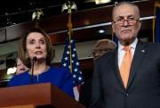 Nancy Pelosi et Chuck Schumer.... (AFP) - image 2.0