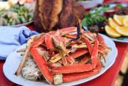 Réchauffées sur le barbecue, les pattes de crabe... (PHOTO HUGO-SÉBASTIEN AUBERT, LA PRESSE) - image 4.0