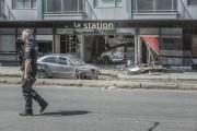 Une voiture a fait irruption dans... (PHOTO FRANCIS VACHON, LA PRESSE CANADIENNE) - image 2.0