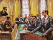 Le juge Edgardo Ramos et les représentants des... (PHOTO JANE ROSENBURG, REUTERS) - image 2.0
