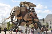 Un éléphant mécanique de 12mètres... (PHOTO FOURNIE PAR LES MACHINE DE L'ÎLE) - image 2.0