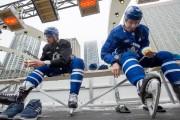 Avec Auston Matthews et Mitch Marner, les Maple... (PHOTO FRANK GUNN, ARCHIVES LA PRESSE CANADIENNE) - image 2.0