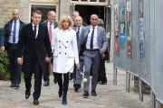 Emmanuel Macron est allé voter à Le Touquet... (PHOTO LUDOVIC MARIN, AGENCE FRANCE-PRESSE) - image 2.0