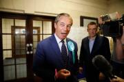 Nigel Farage.... (PHOTO TOLGA AKMEN, AGENCE FRANCE-PRESSE) - image 3.0