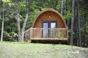 Une cabane de type Pod... (PHOTO FOURNIE PAR CAMPING-QUÉBEC) - image 4.0