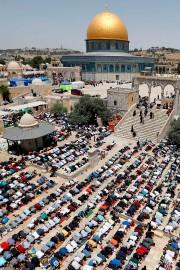 Plus de 200000fidèles se sont pressés sur le troisième lieu saint de... (AFP) - image 2.0