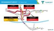 Plusieurs bretelles de l'échangeur Turcot, dont celle de l'autoroute 15 en... - image 2.0
