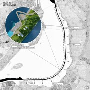 L'aménagement de l'estacade du pont Champlain imaginé danslecadre... (IMAGE FOURNIE PAR PARA-SOL) - image 2.0