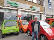 Øyvind Ursin Kavåg importe des voitures électriques usagées... (PHOTO PHILIPPE TEISCEIRA-LESSARD, LA PRESSE) - image 4.0