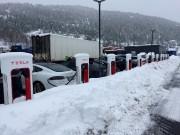 Des voitures électriques en rechargeà Gulsvik, en Norvège.... (PHOTO ARCHIVES REUTERS) - image 6.0