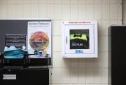 Un défibrillateur externe automatisé installé dans l'école secondaire... (PHOTO ROBERT SKINNER, LA PRESSE) - image 4.0