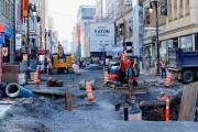 D'importants travaux sont en cours sur la rue... (PHOTO ALAIN ROBERGE, ARCHIVES LA PRESSE) - image 3.0