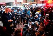 Bill de Blasio a tenu une conférence de... (AFP) - image 2.0