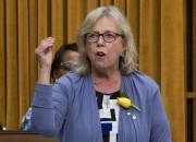 La chef du Parti vert, Elizabeth May... (PHOTO ADRIAN WYLD, ARCHIVES LA PRESSE CANADIENNE) - image 2.0