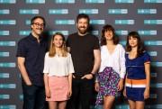 Les comédiens FrançoisLétourneau, MarilynCastonguay, PatriceRobitaille, KarineGonthier-Hyndman etSophieDesmarais... (PHOTO FOURNIE PAR RADIO-CANADA) - image 2.0