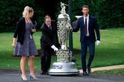 Le trophée Borg-Warner peut être monté sur un... (PHOTO JIM WATSON, AFP) - image 1.0
