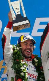 Fernando Alonso était parmi le trio de pilotes... (PHOTO THIBAULT CAMUS, AP) - image 2.0