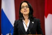 La ministre de la Justice, Sonia LeBel... (PHOTO DAVID BOILY, ARCHIVES LA PRESSE) - image 2.0