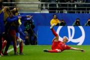 La capitaine de l'équipe américaine Megan Rapinoe célèbre... (PHOTO THOMAS SAMSON, AGENCE FRANCE-PRESSE) - image 2.0